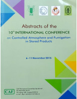 The 10th International Conference on Controlled Atmosphere and Fumigation in Stored Products (CAF) dt. 6 November 2016